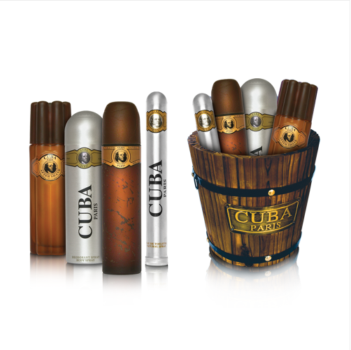 Cuba Gold Perfume Collection in Barrel (5425017732334)