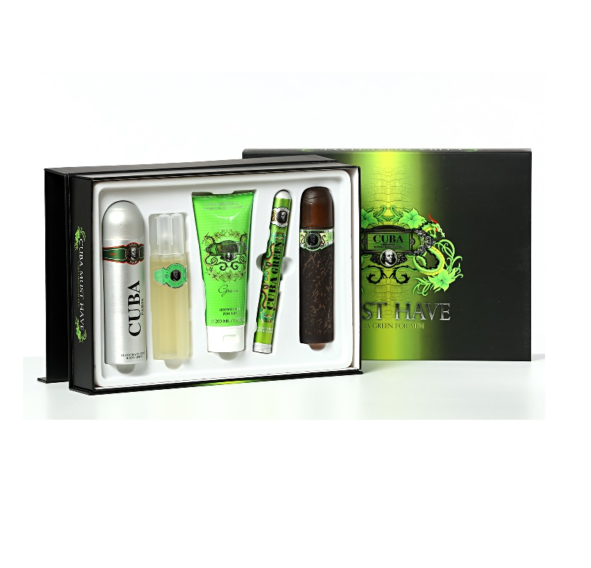 Cuba Green Must Have Gift Set