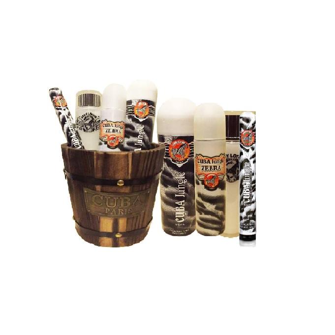 Cuba Jungle Zebra Gift Set in Barrel (802822002442)