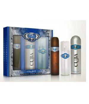 Cuba Blue Perfume Trio Gift Set